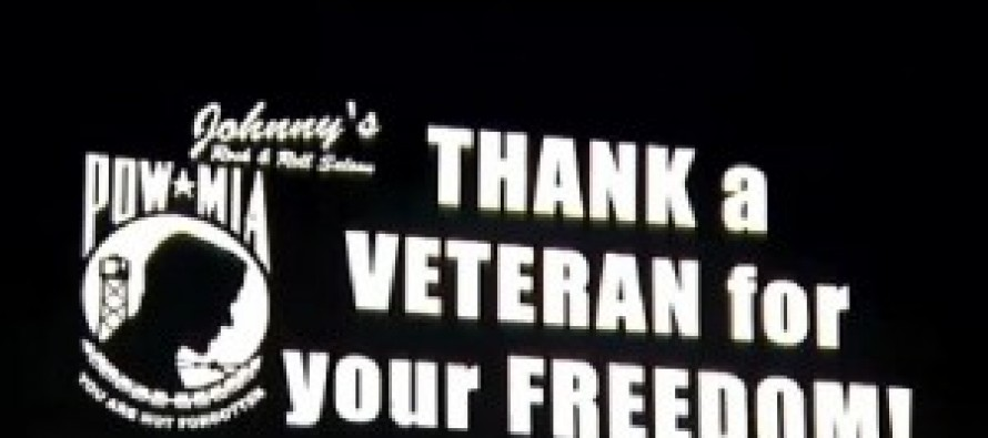 City Orders Bar To Remove 'thank A Veteran For Your Freedom!'