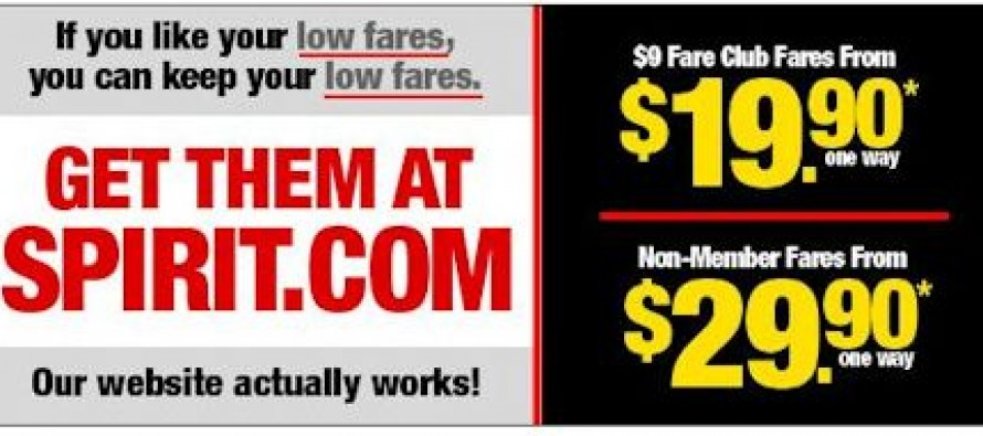 Spirit Airlines Makes Fun Of Obamacare In Latest Ad