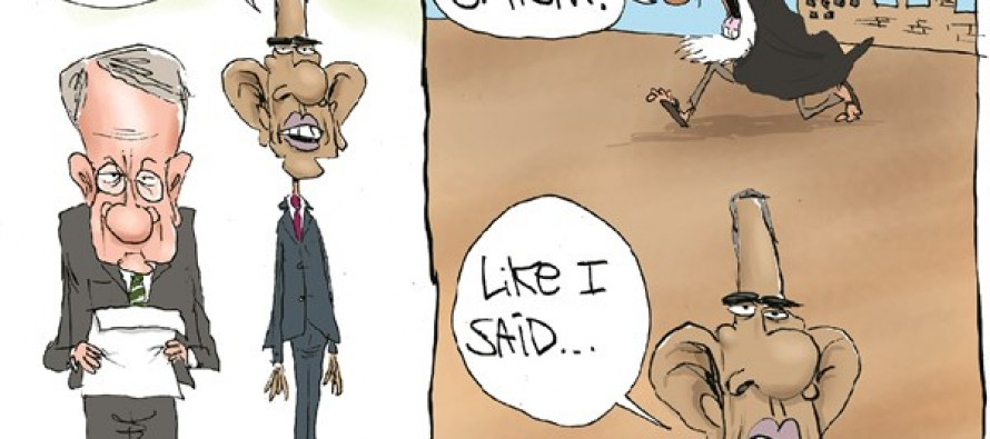 Iran's Option (Cartoon)