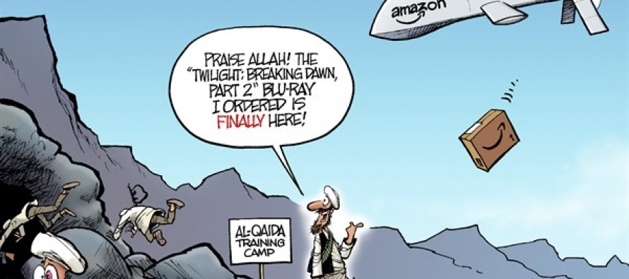 Drone Strike (Cartoon)