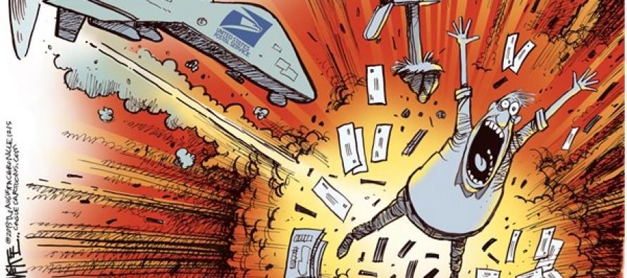 USPS Drone (Cartoon)
