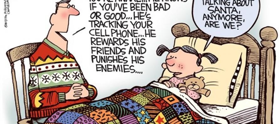 Not Santa (Cartoon)