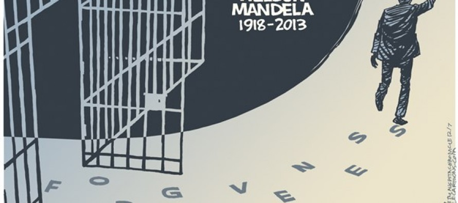 Mandela Memorial (Cartoon)