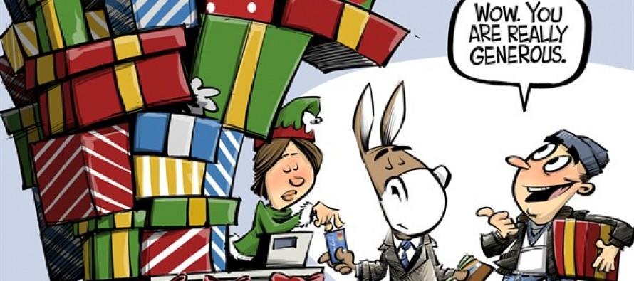 Season of giving (Cartoon)