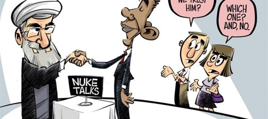 Nuke talks (Cartoon)