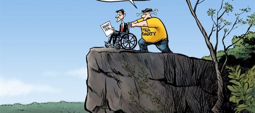 Paul Ryan Cliff (Cartoon)