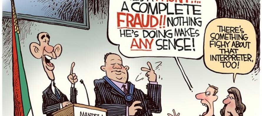 Interpreter Fraud (Cartoon)