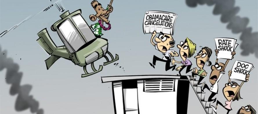 Off to Hawaii (Cartoon)