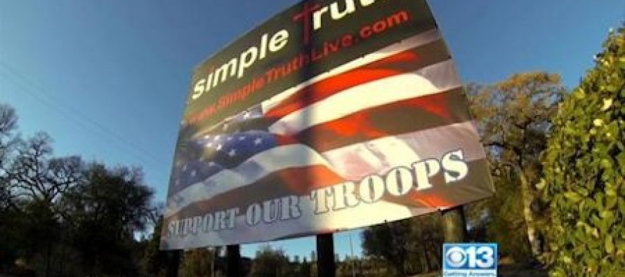 "Church Ordered To Remove ""Support Our Troops"" Sign"