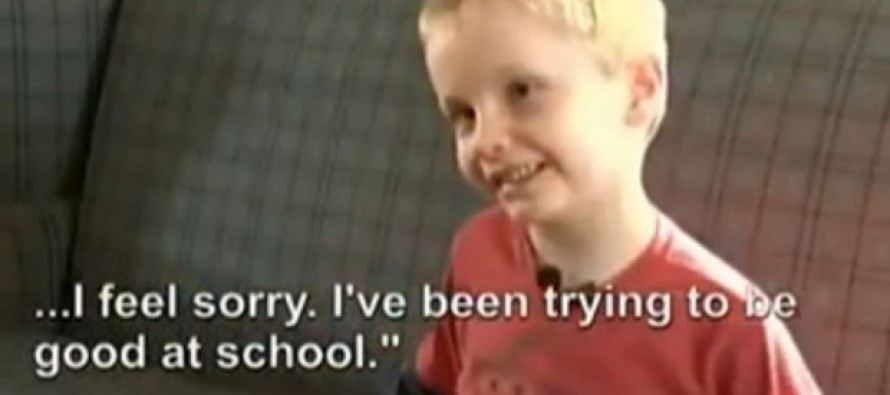 """Six Year Old Suspended For """"Sexual Harassment"""""""
