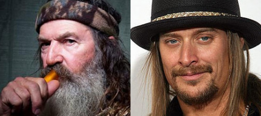 "Kid Rock on Phil Robertson: ""I support Phil…F*** PC."""