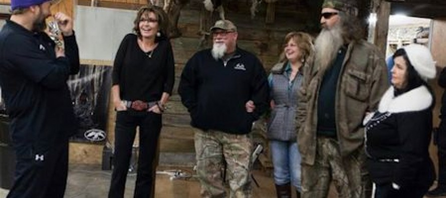 Ted Cruz, Sarah Palin and Bobby Jindal All Stand Up For Phil Robertson