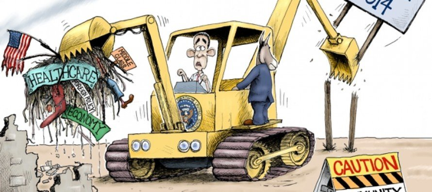 America Under Destruction (Cartoon)