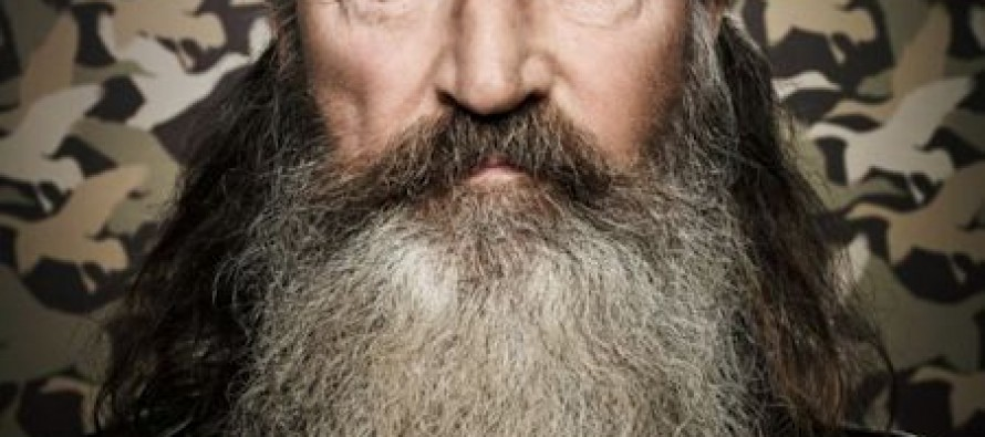 Phil Robertson Doubles Down: No Apologies. He Meant What He Said.