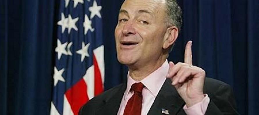 Democrat Senator Schumer: Veterans Should Take a Pay Cut But Congress Should Not