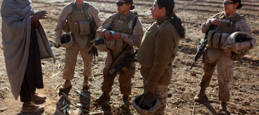 Female Marines Can't Complete Physical Training Tests, But Will Be Sent To The Front Lines Regardless