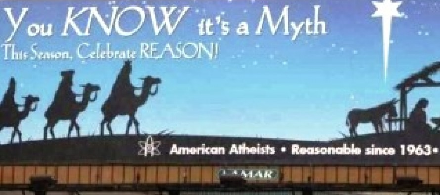 Atheist group targets Christmas with 'anti-god' billboard campaign