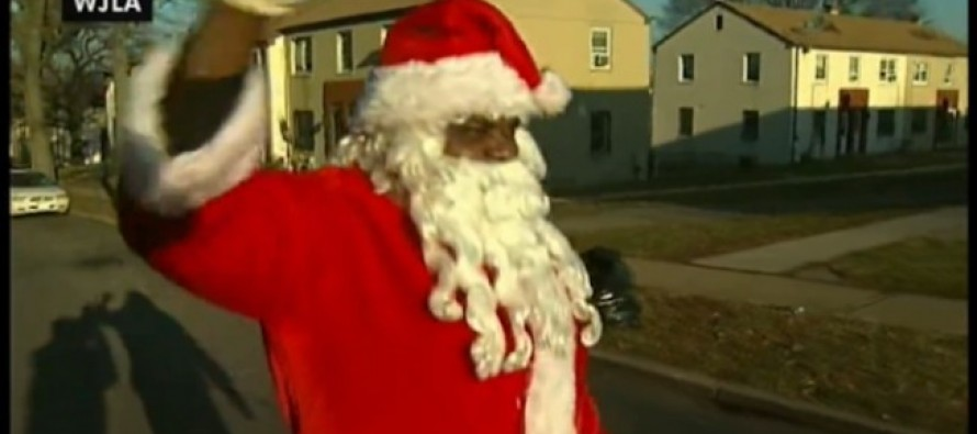 VIDEO: Black Southgeat Santa Xavier Hawkins shot in the back with pellet gun at toy giveaway