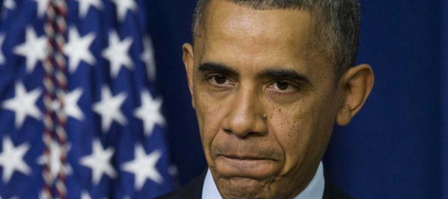 Real Clear Politics Poll: Obama's Approval Rating Falls below 40% First Time in His Presidency