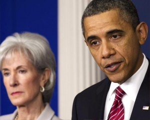 Obama -- sebellius