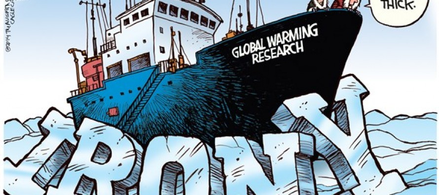 Global Warming Irony (Cartoon)