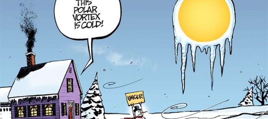 Polar Vortex (Cartoon)