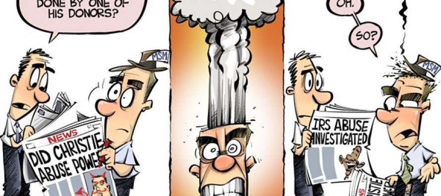 Abuse outrage (Cartoon)