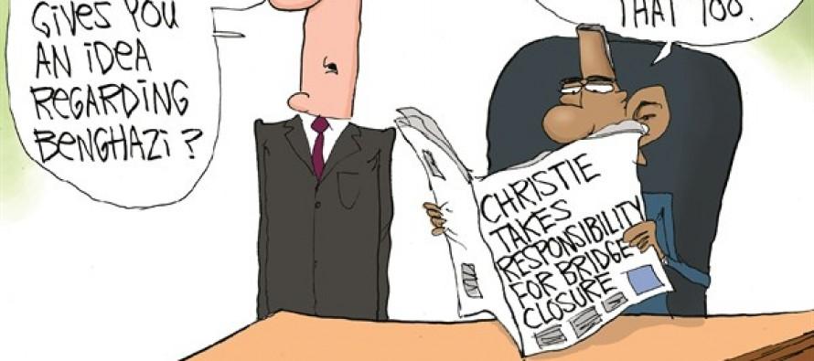 Benghazi Bridge Blame (Cartoon)