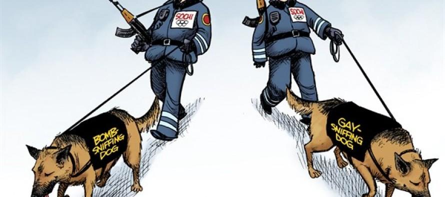 Sochi Security (Cartoon)