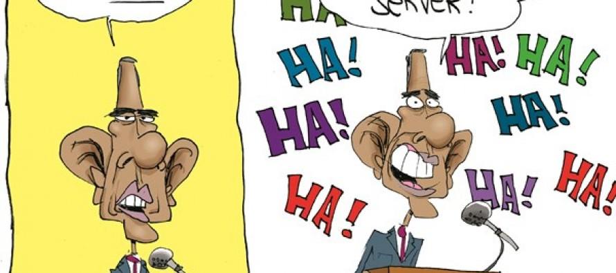 State Of The Union Joke (Cartoon)