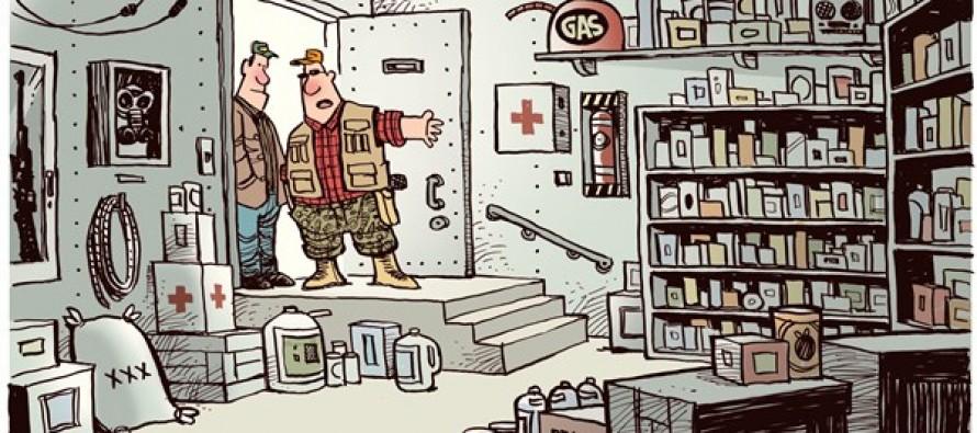 Ready for snow (Cartoon)