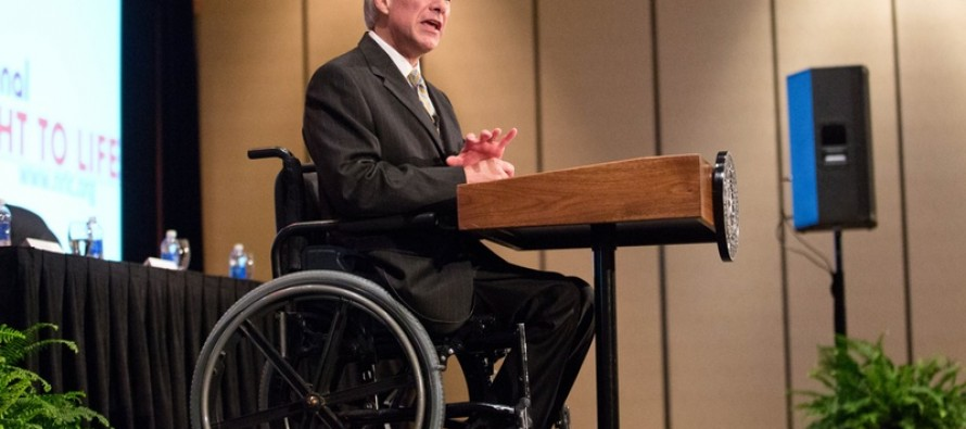 "Greg Abbot Responds to Video of Liberal Bigotry: ""Denigrating the Disabled Is Unworthy of Texas"" (Video)"