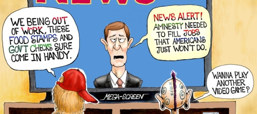 Jobless in America (Cartoon)