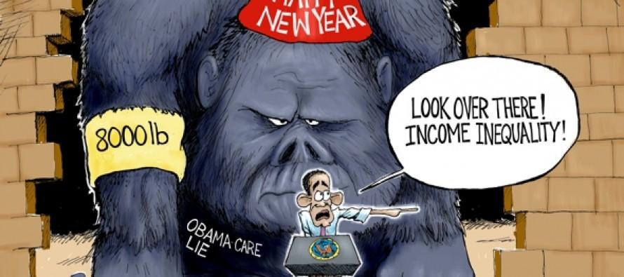 The Gorilla in the Room (Cartoon)