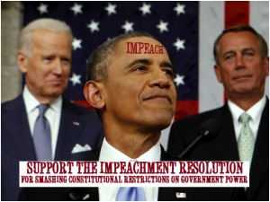 Obama Support Impeachment resolution
