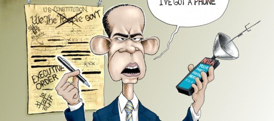 The Pen to Serfdom (Cartoon)