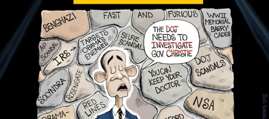 Wolf of Stonewall Street (Cartoon)