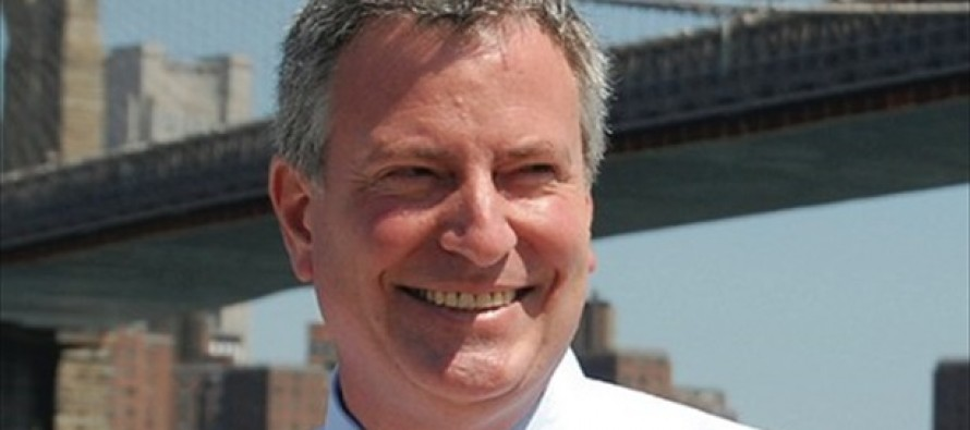 Prelude to Disaster: Comrade De Blasio vows sweeping change as NYC's next mayor