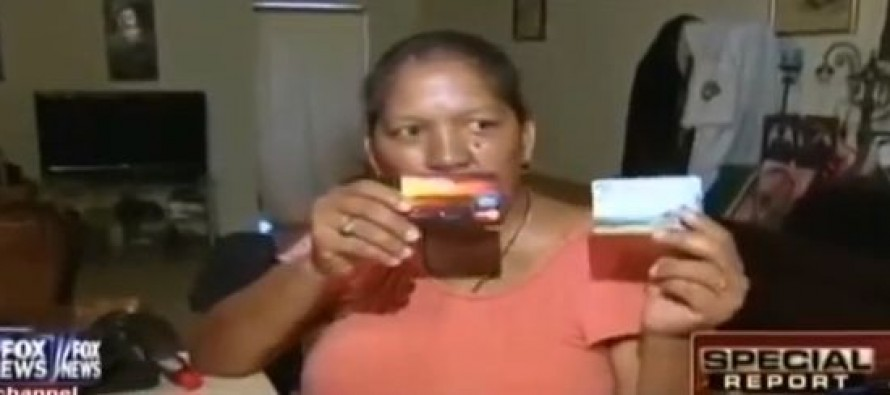 Illegal With 7 Kids Has Gotten Food Stamps, Housing & Social Security for 20 Years