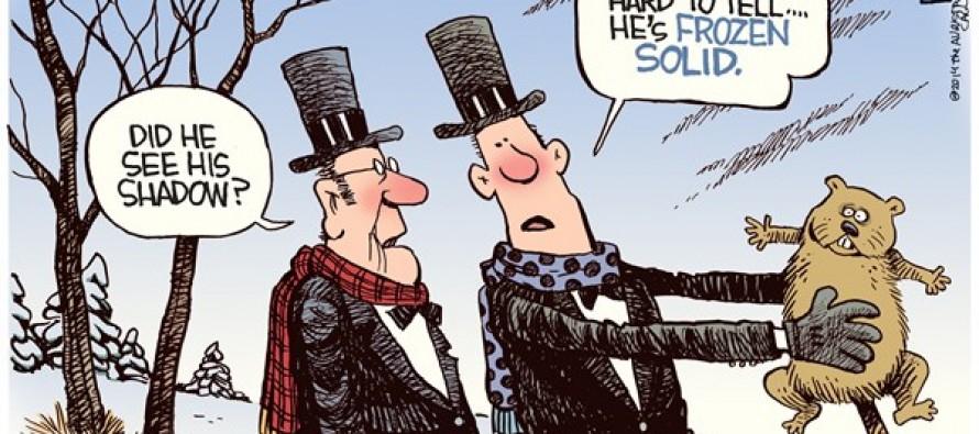 Frozen Groundhog (Cartoon)