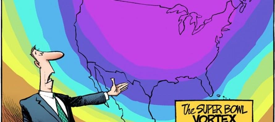 Super Bowl Vortex (Cartoon)
