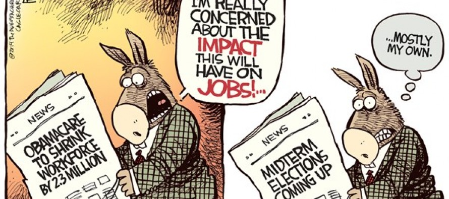 Obamacare Jobs (Cartoon)