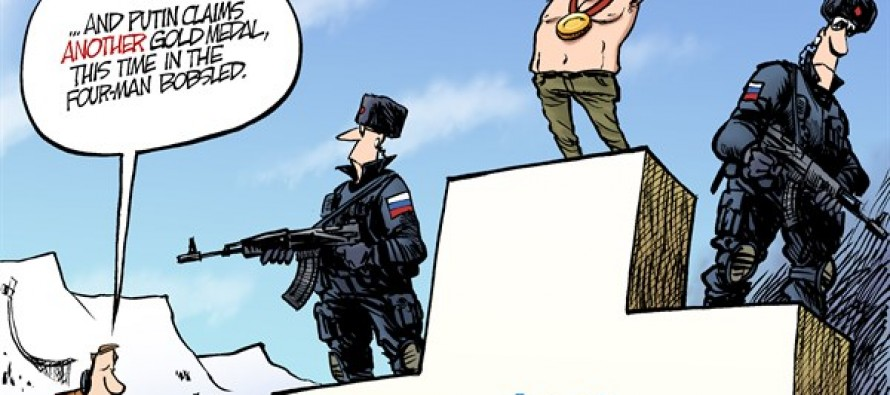 Putin Olympics (Cartoon)