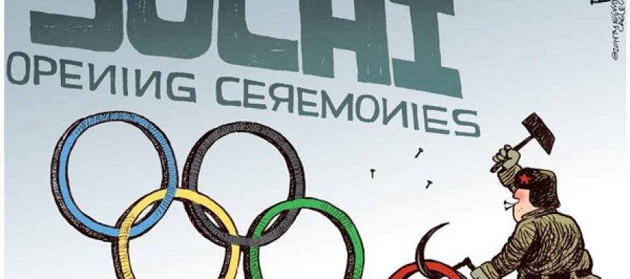 Sochi Opening (Cartoon)