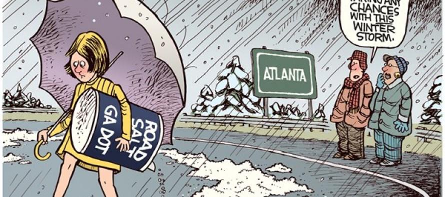Atlanta Ice Storm (Cartoon)