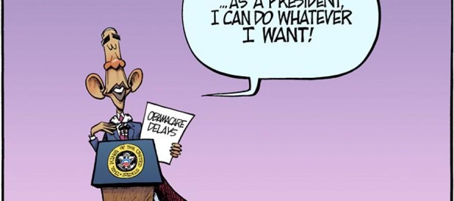 Imperial Obama (Cartoon)
