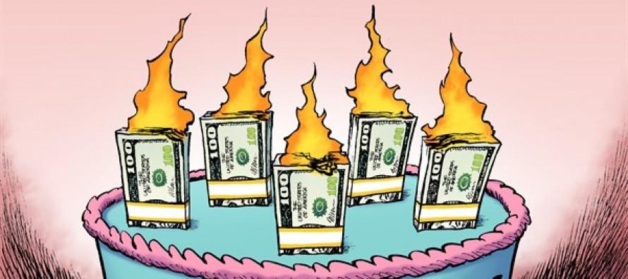 Stimulus Anniversary (Cartoon)