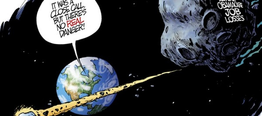 Obamacare Asteroids (Cartoon)