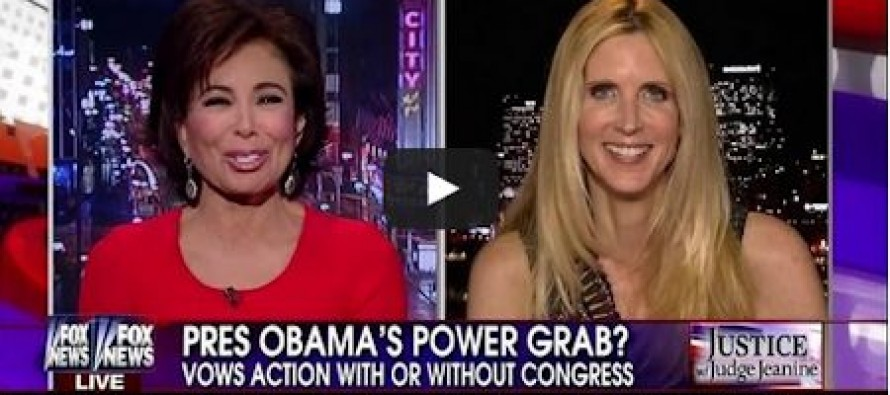 Ann Coulter: Obama Would Be Impeached If He Weren't America's First Black President