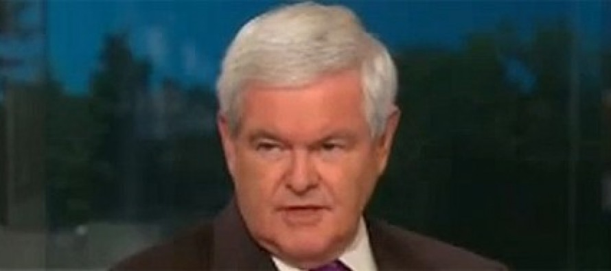 Gingrich calls for Sec. Kerry to resign over global warming remarks